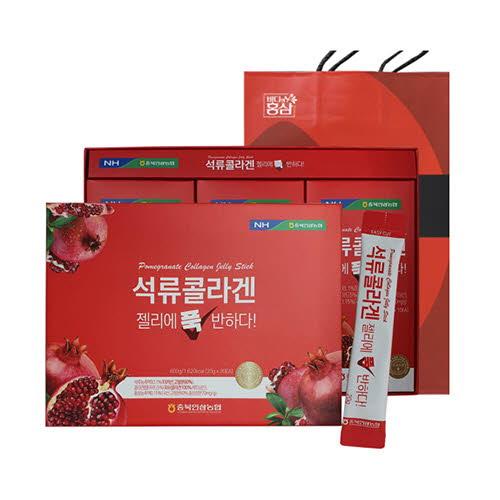 [충북인삼농협] 석류콜라겐 젤리에 푹 반하다 20gx30포